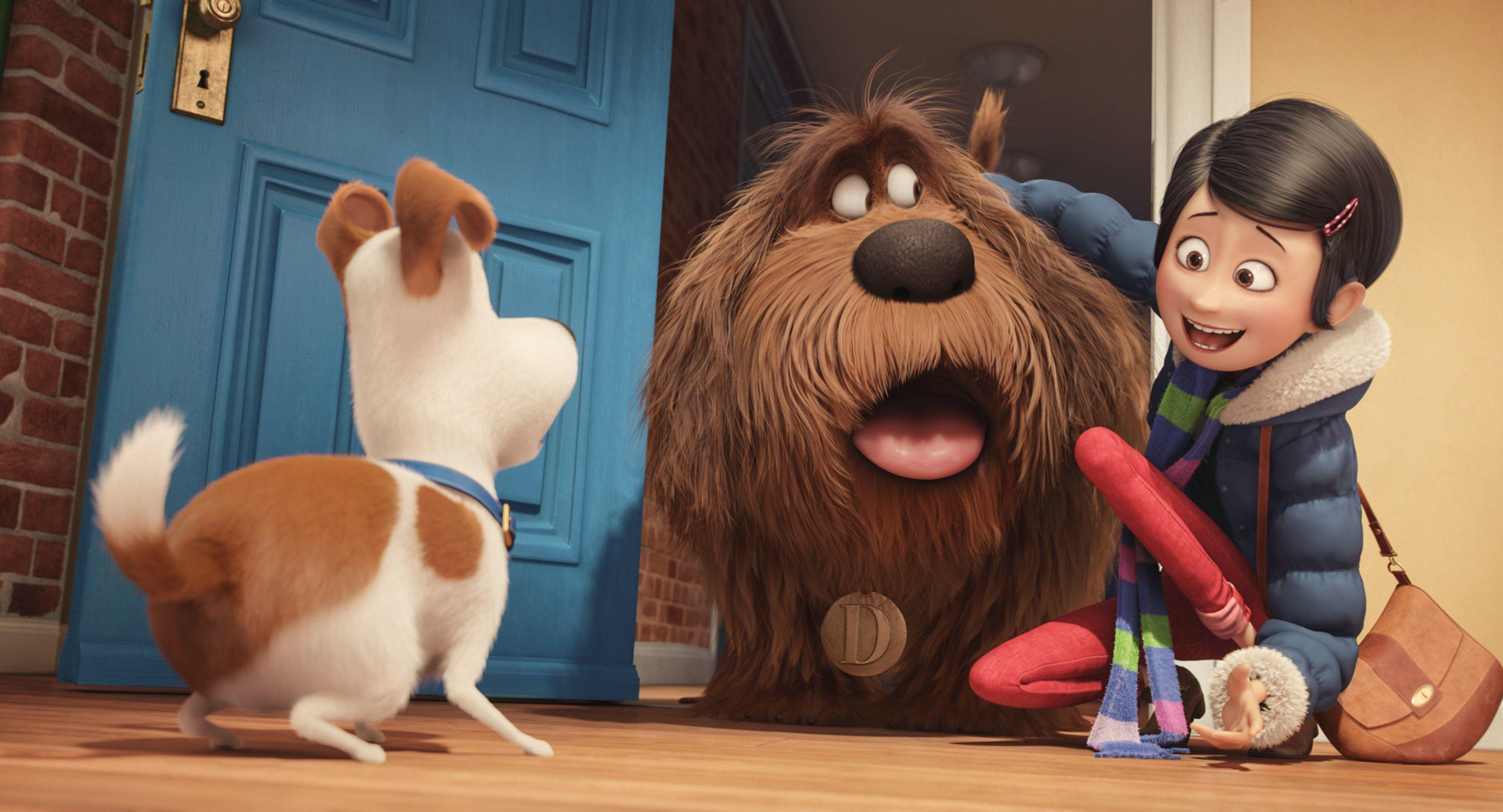 Review The Secret Life Of Pets Has More Bark Than Bite La
