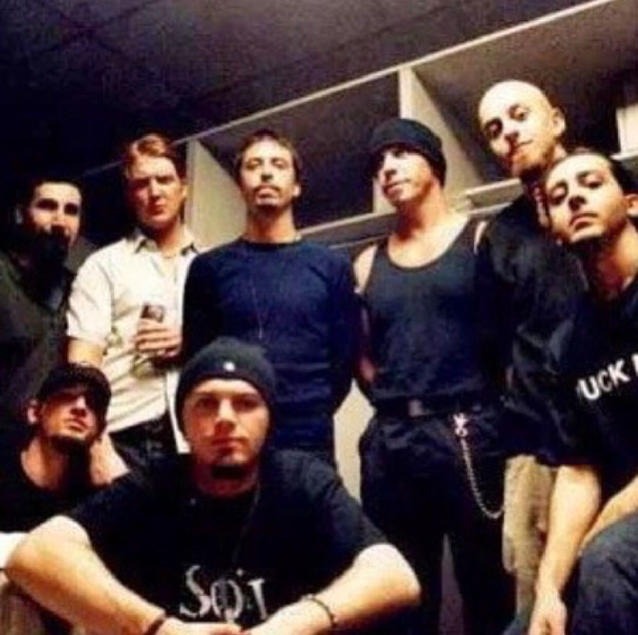 System Of A Down With Dave Grohl Of Foo Fighters Till Lindemann