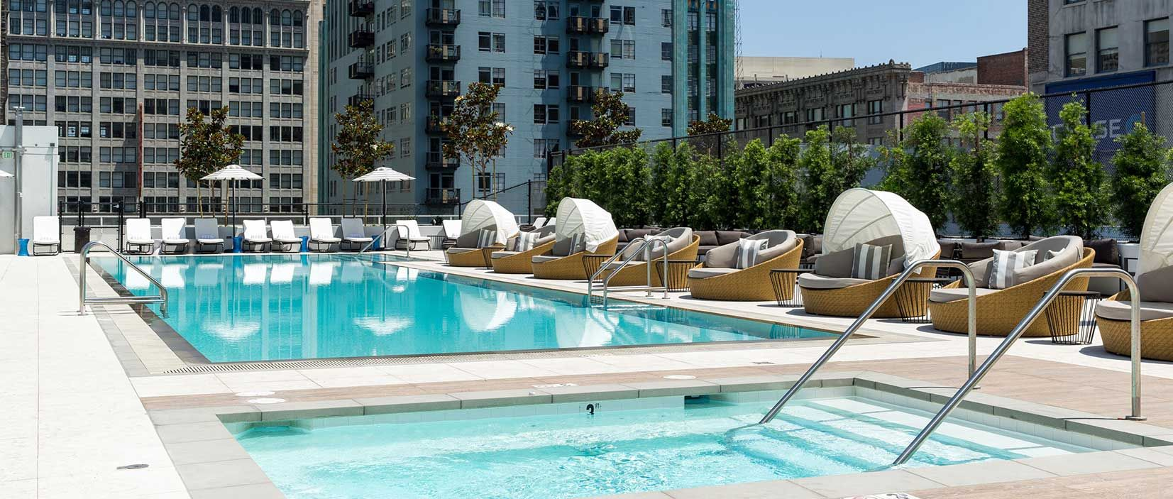 Extended Stay Short Term Apartments In Los Angeles Level Hot Tubs Saunas Hotel Vacation Apartments