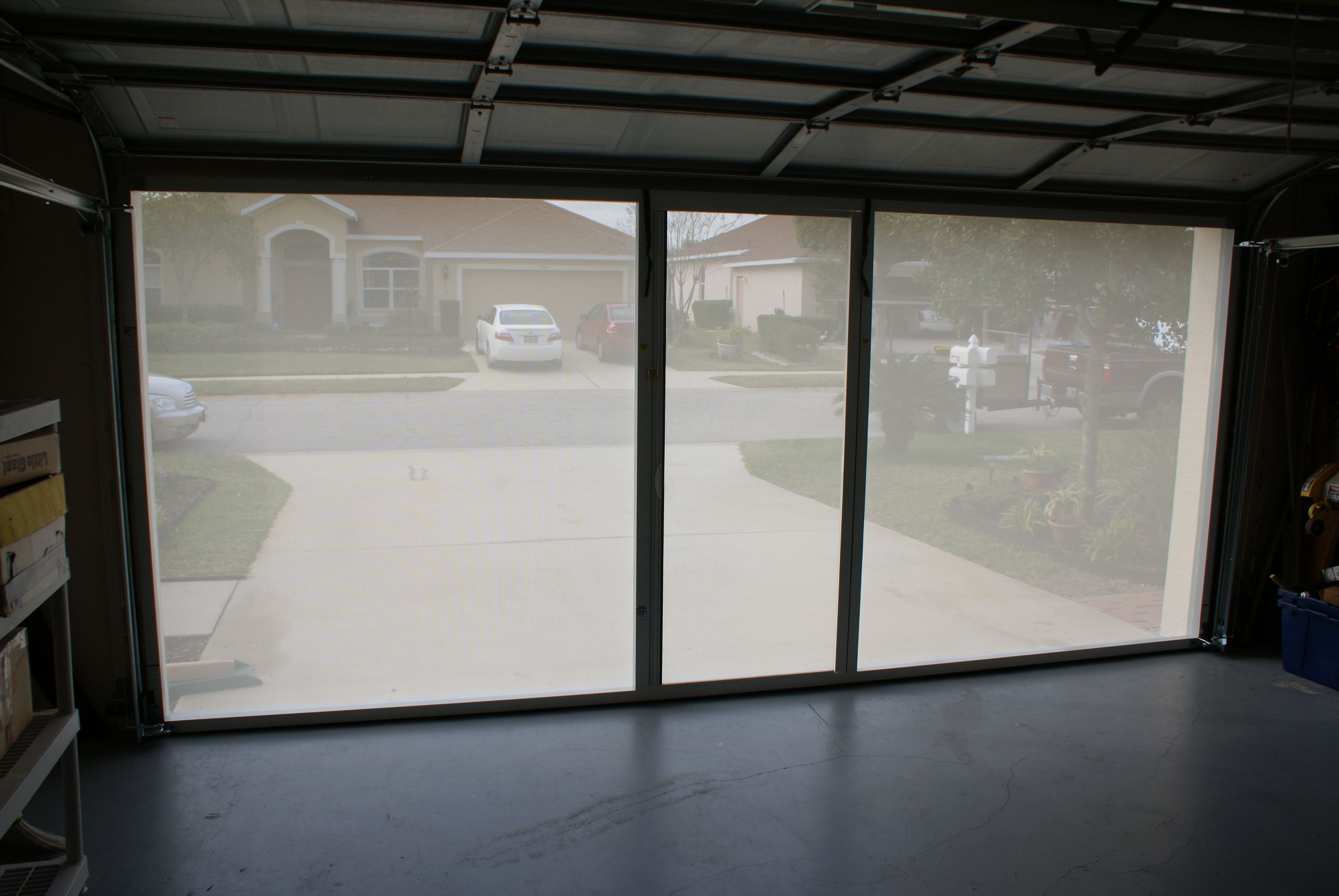 Screen Door For Garage With Privacy Privacy Screen Outdoor