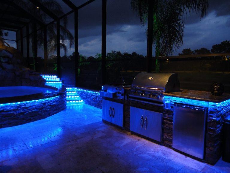 Backyard Led Lighting Janielinsmith Outdoor Kitchen Design Kitchen Bar Design Kitchen Design Plans