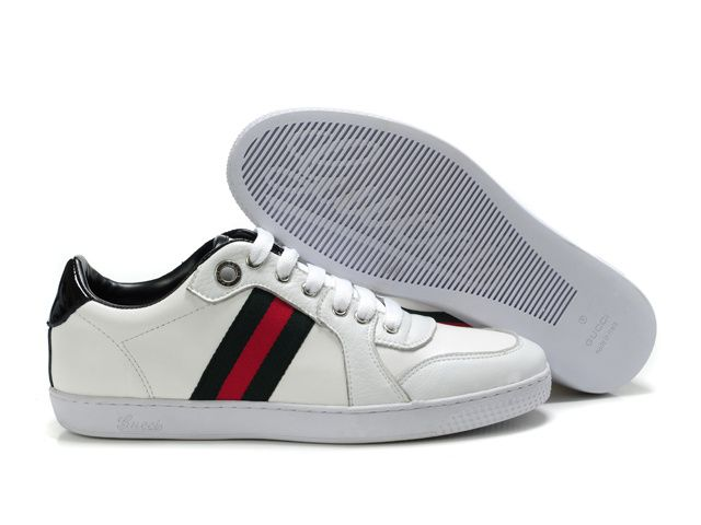 gucci shoes for men low tops. gucci low top leather sneakers white for men shoes tops