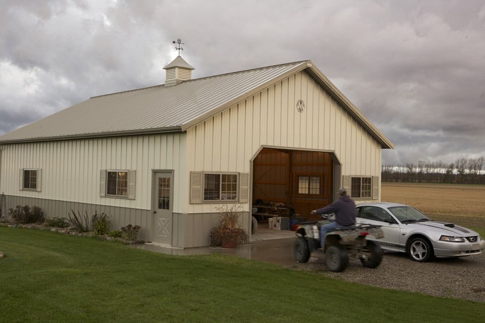 Pin By Nancy Tucker On Metal Building Morton Building Metal Building Homes Pole Barn House Plans