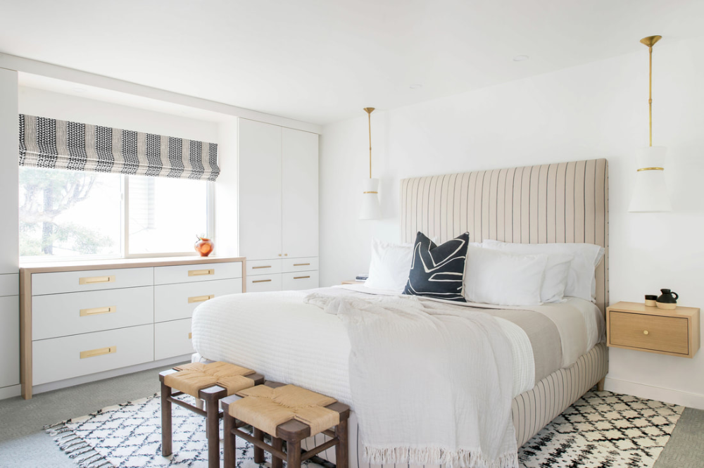 WEISS - Jula Cole Design  #interiordesign #interiorinspiration #bedroom
