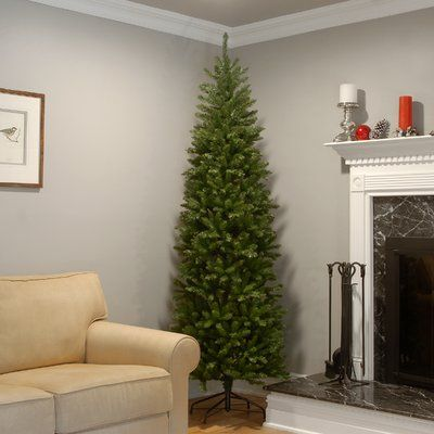 Artificial Christmas Tree Sizes.Mercury Row Green Fir Artificial Christmas Tree Products