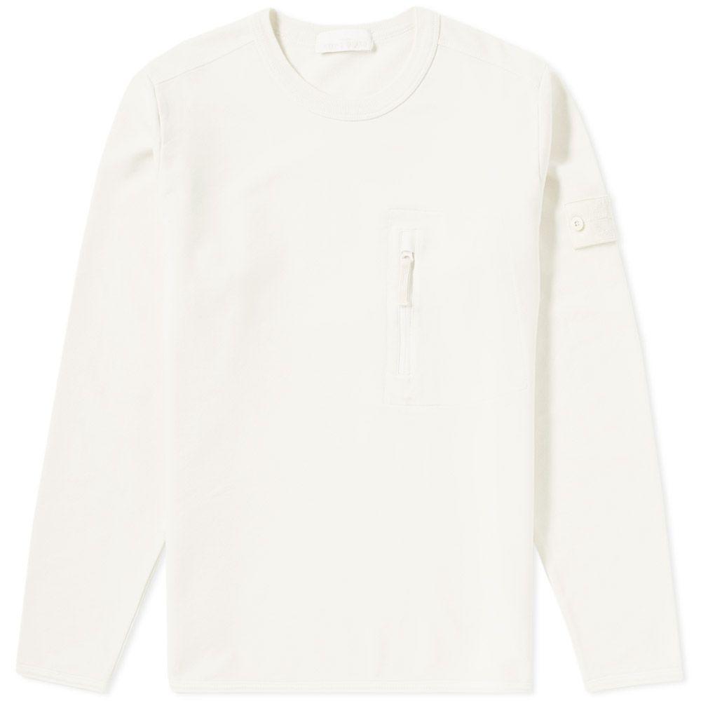 671561740 Ghost Piece Zip Pocket Sweater