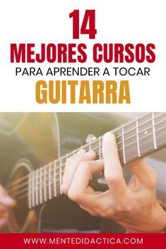 14 mejores cursos para aprender a tocar guitarra #cursosonline #guitarra