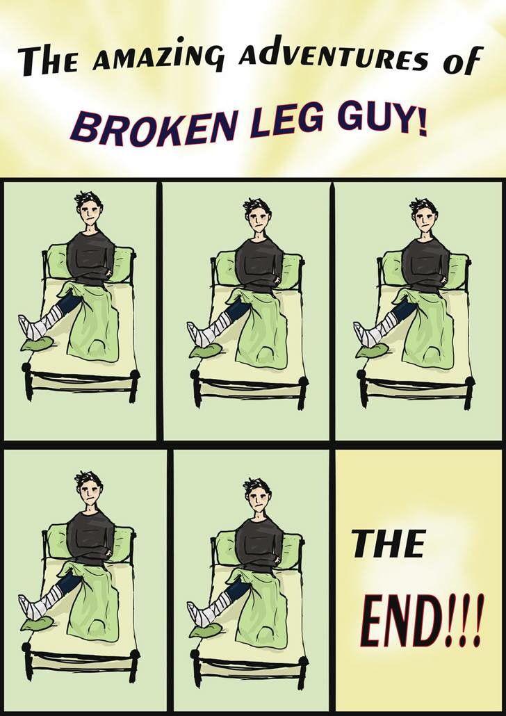 Deku Broken Arm Meme