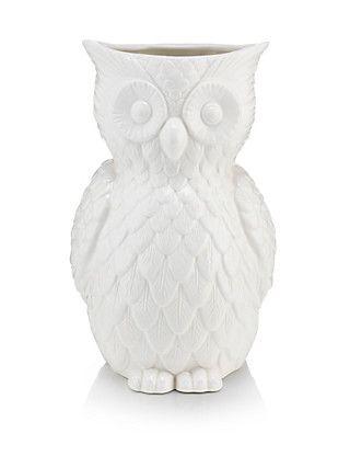 Owl Vase Things For The Home I Love Pinterest Ranges