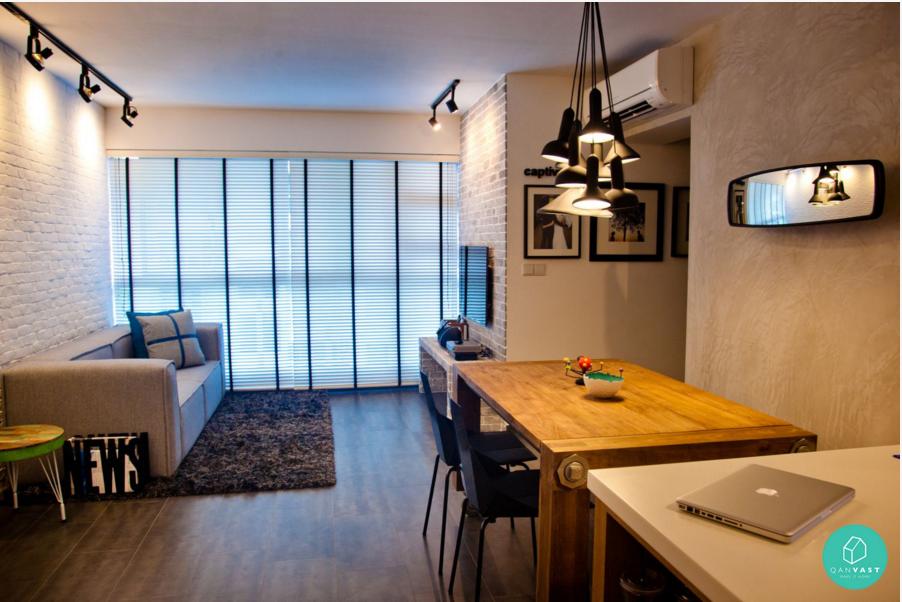 4Room Hdb Jurung  Homereno  Pinterest  Room Living Rooms And Amusing Hdb 4 Room Living Room Design Decorating Design