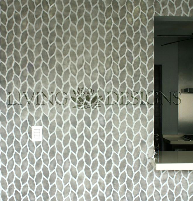 Plantilla decorativa para el dise o de interiores y pintar - Como pintar paredes interiores ...