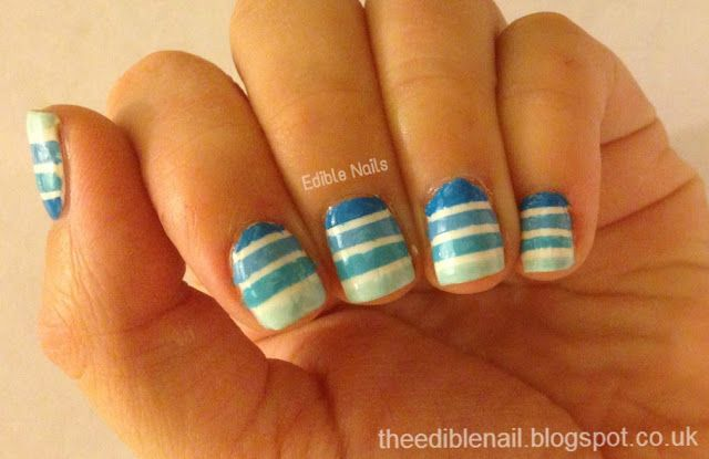Edible Nails : 31 Day Challenge - Day 10 - Gradient