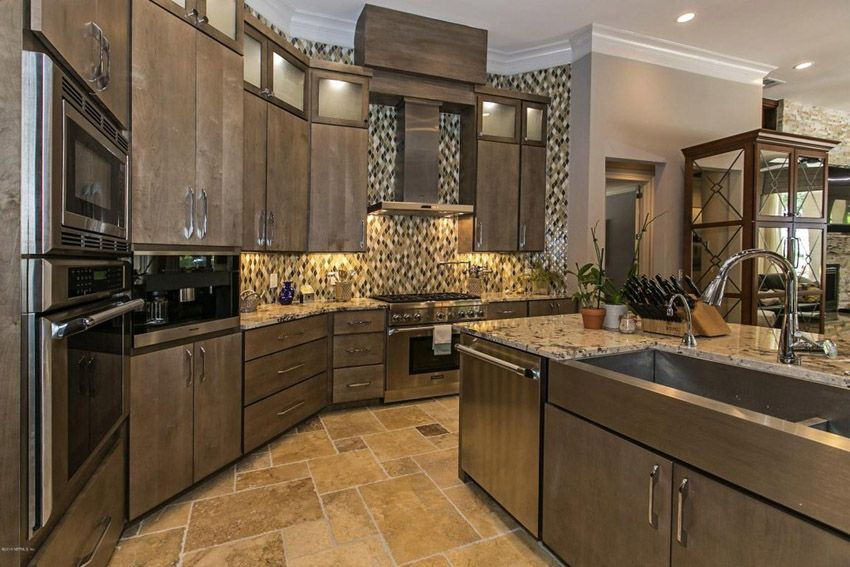 53 High-End Contemporary Kitchen Designs (With Natural Wood ...