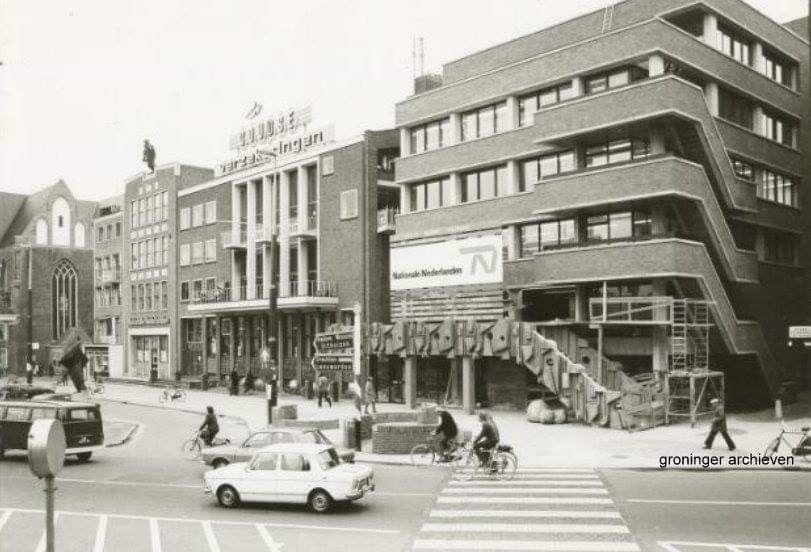 Naberpassage Groningen Stad Oude Fotografie