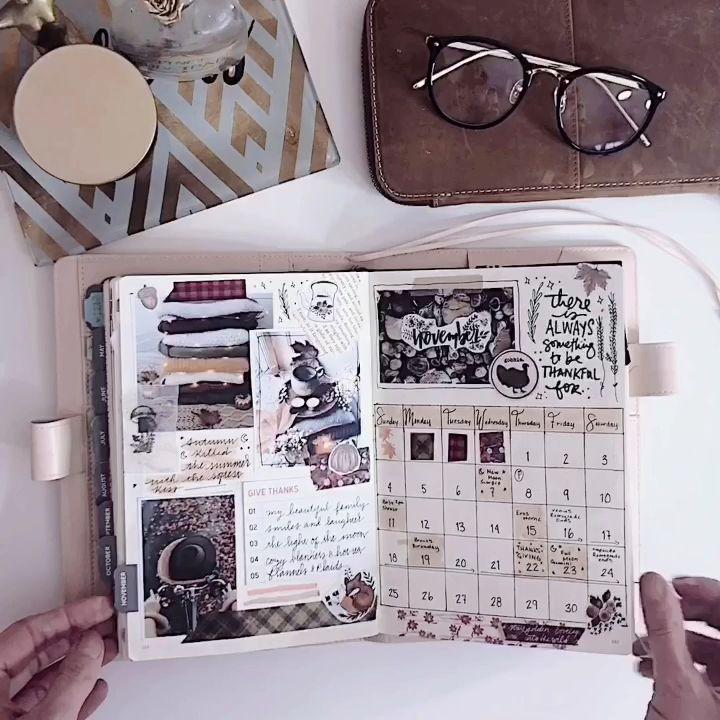 November Bullet Journal  #journaling