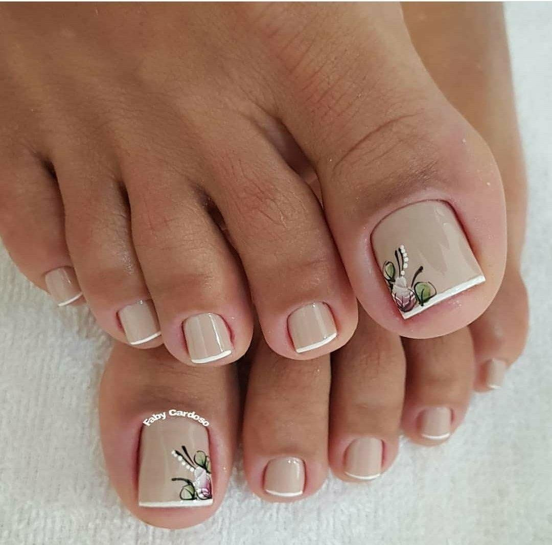 Dise o de u as pies u as full color - Unas de pies decoradas ...