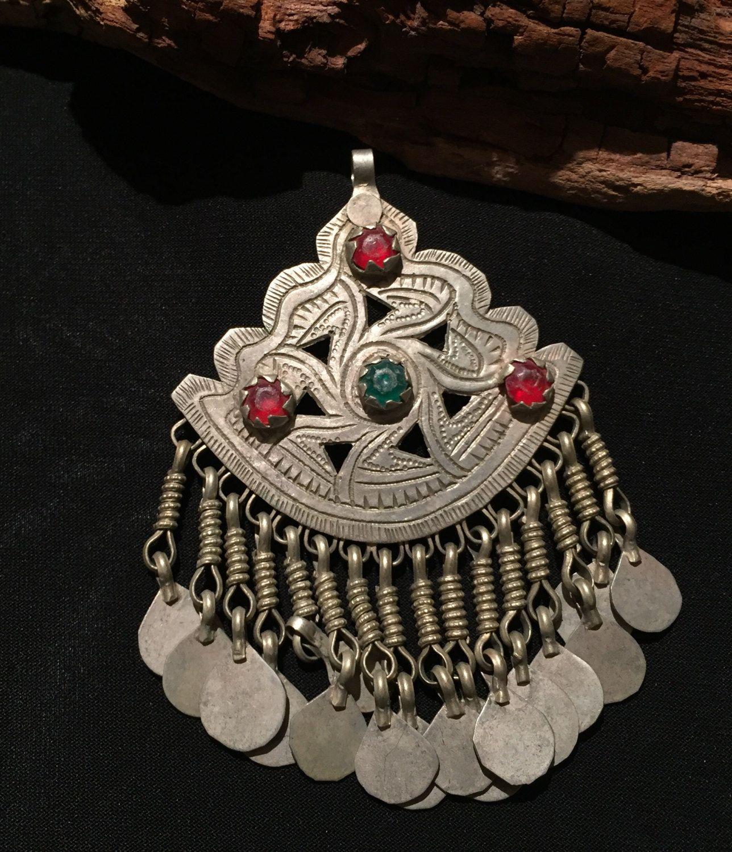 Old vintage pendant kuchi pendant handmade jewellery kuchi old vintage pendant kuchi pendant handmade jewellery kuchi jewelry afghani jewelry aloadofball Gallery