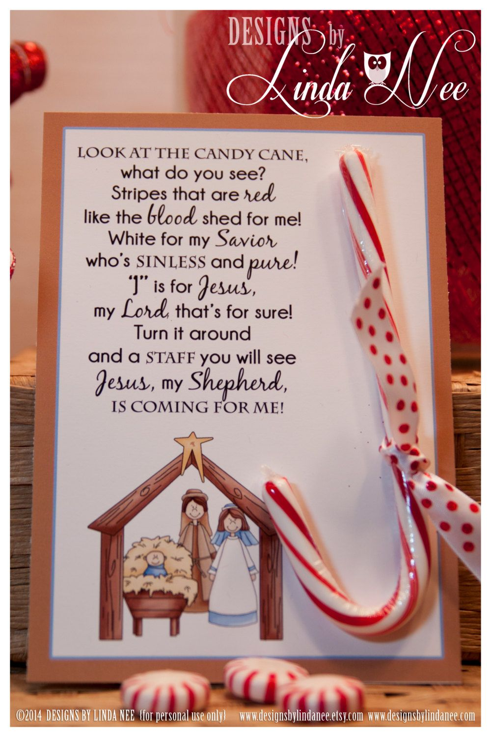 It is a graphic of Challenger Candy Cane Poem Printable