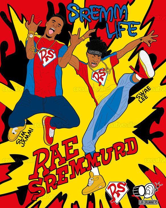 Rae Sremmurd Poster By Denis Ivanov On Creativealliescom Shanice