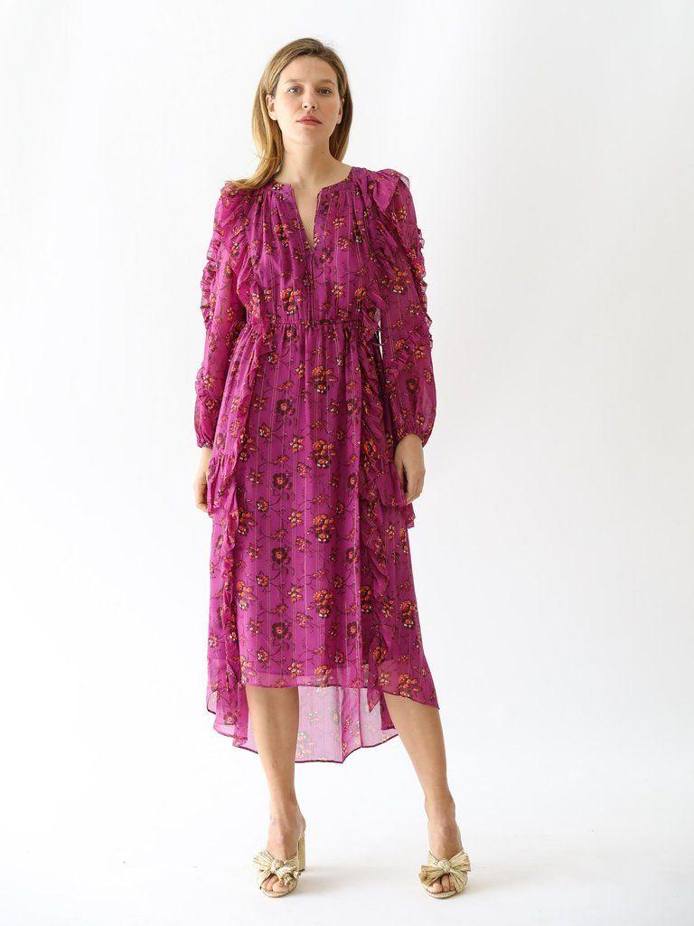 Ellette Dress in Magenta | Dresses, Clothes for women, Gowns