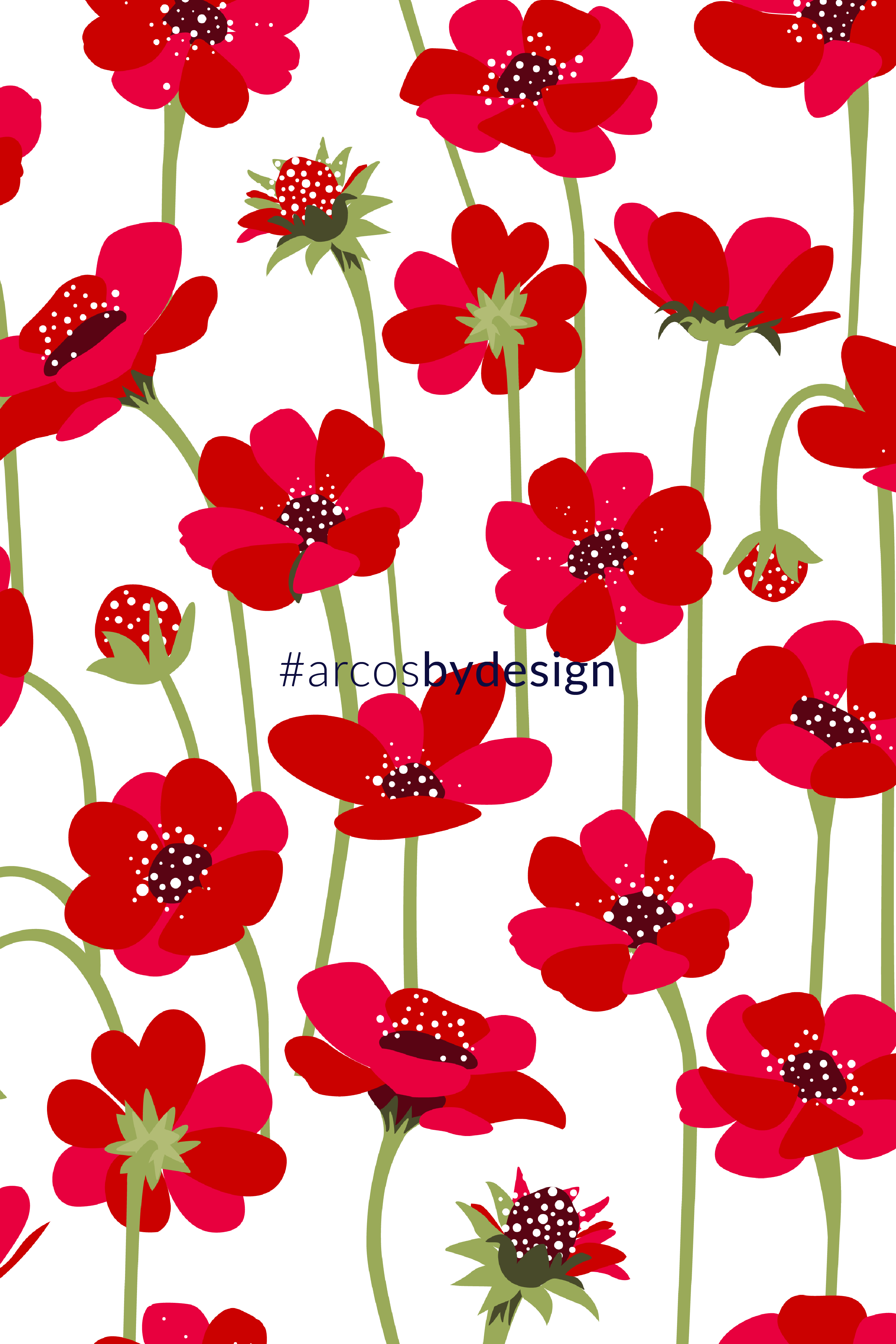 Chocolate Cosmos Floral Patter Flower Print Pattern Flower Pattern Design Trendy Flowers