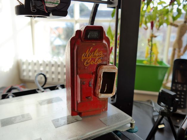 Fallout 4 - Nuka Cola Vending Machine! by Messy - Thingiverse