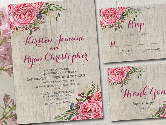 wedding invitations invites rsvp cards postcards vintage rustic