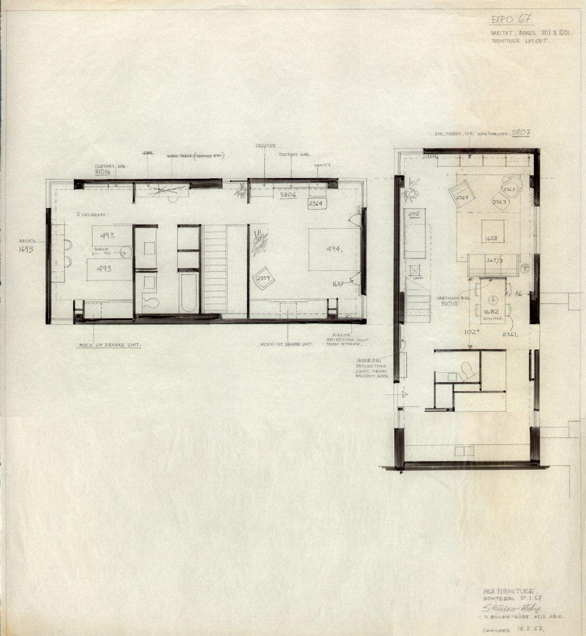 Plan architectural maison d 39 habitation for Plan maison d habitation