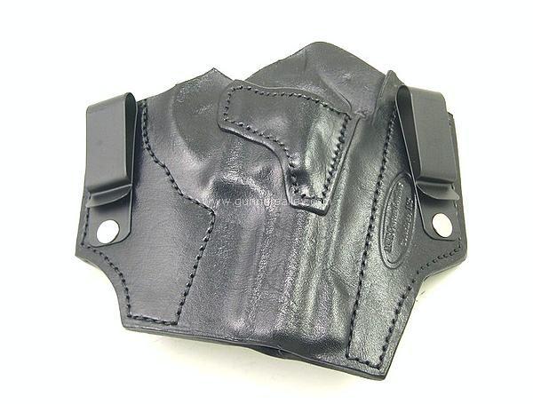 RH black MTR Custom Slimline Tuckable IWB holster for a