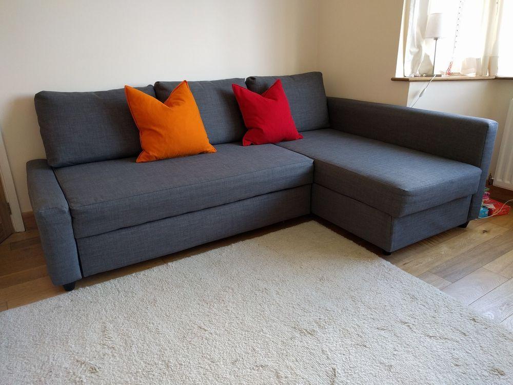 Ikea Friheten Corner Sofa Bed With Storage Ebay Corner Sofa