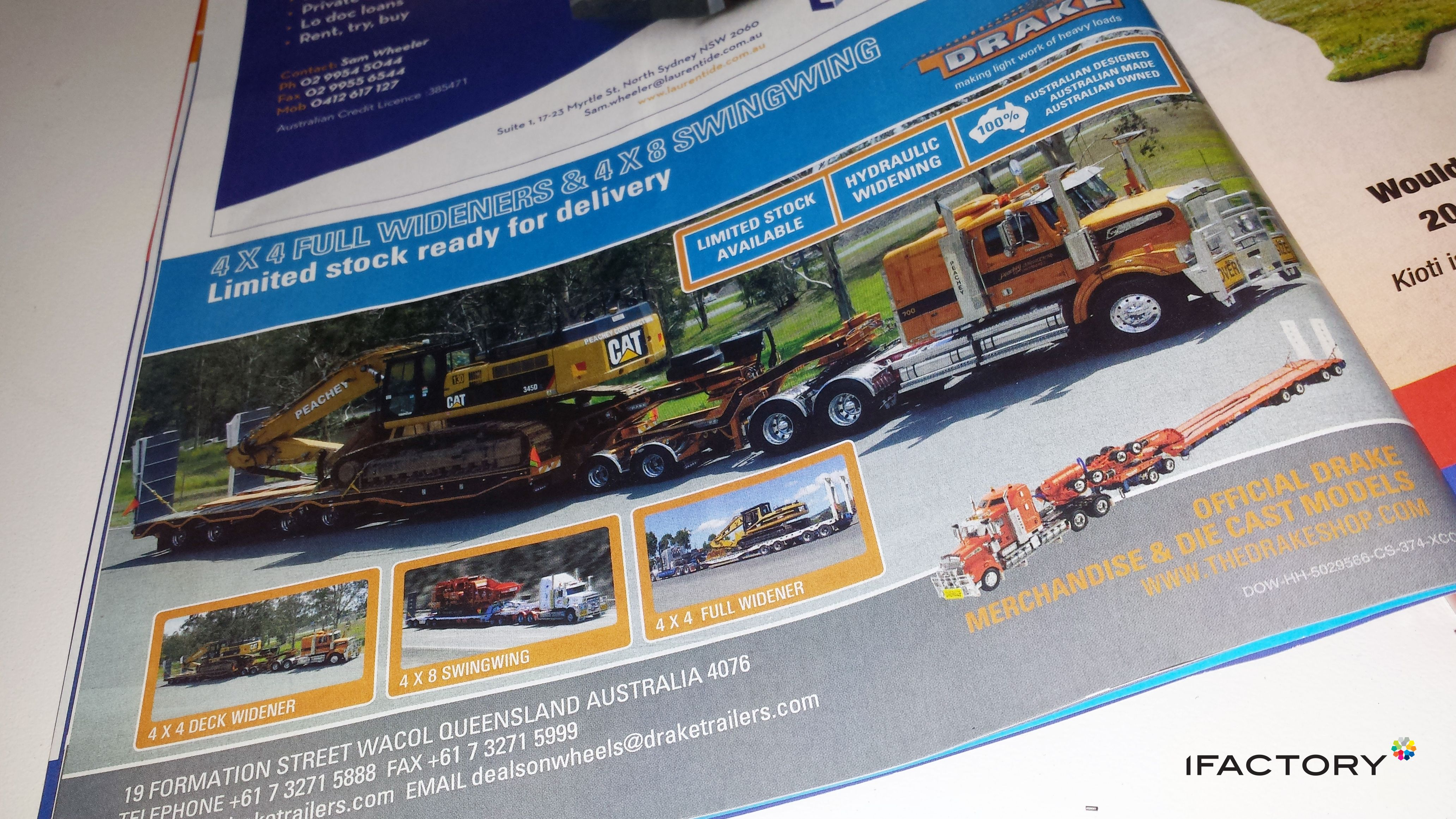 Drake Trailers Deals On Wheels Magazine Print Ad By Ifactory