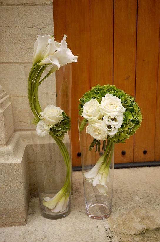 Simply Stylish Calla Lillies Diseño Floral Bajo El Agua