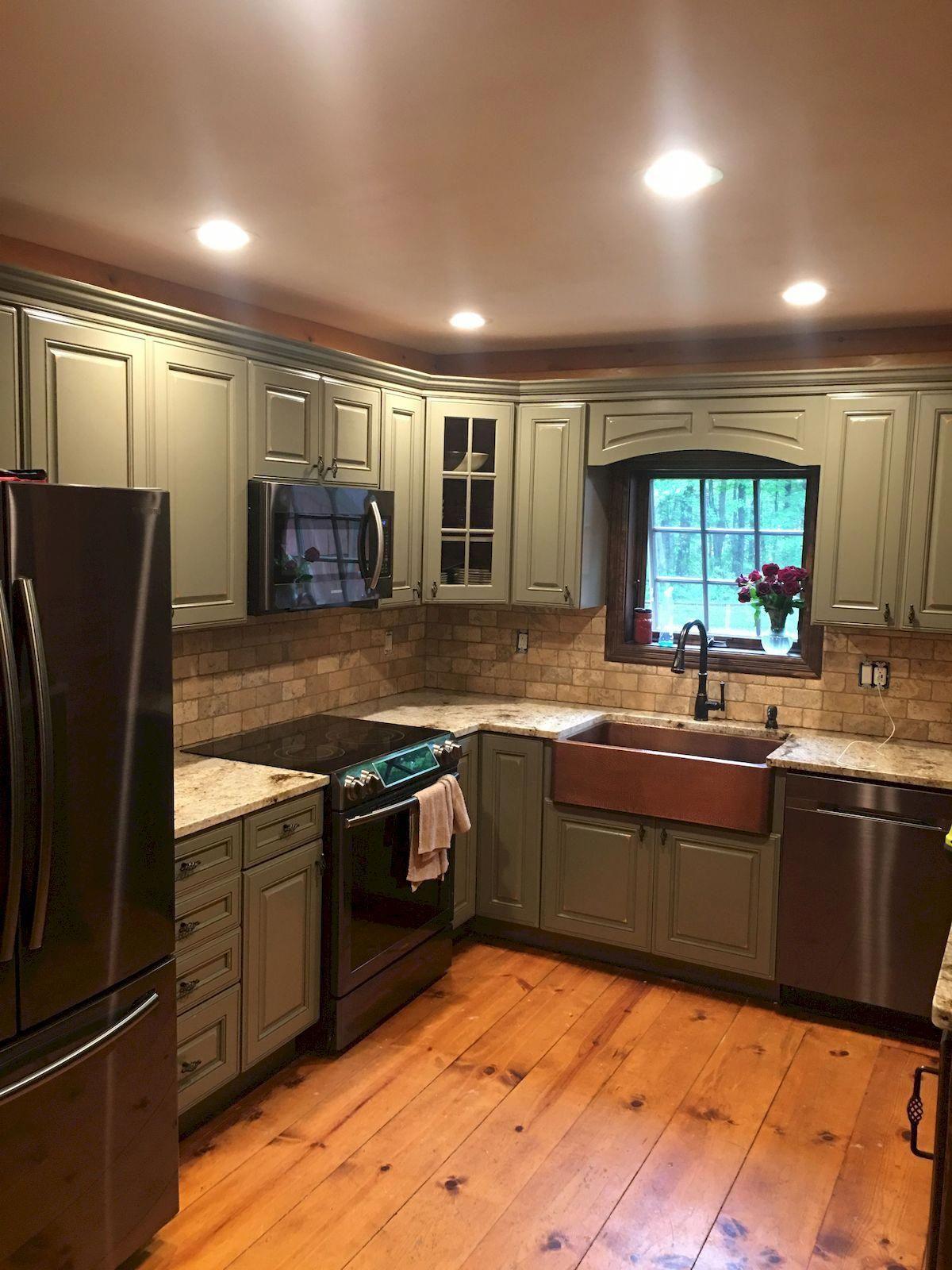 Kitchencabinets Green Kitchen Cabinets Sage Green Kitchen Kraftmaid Cabinets