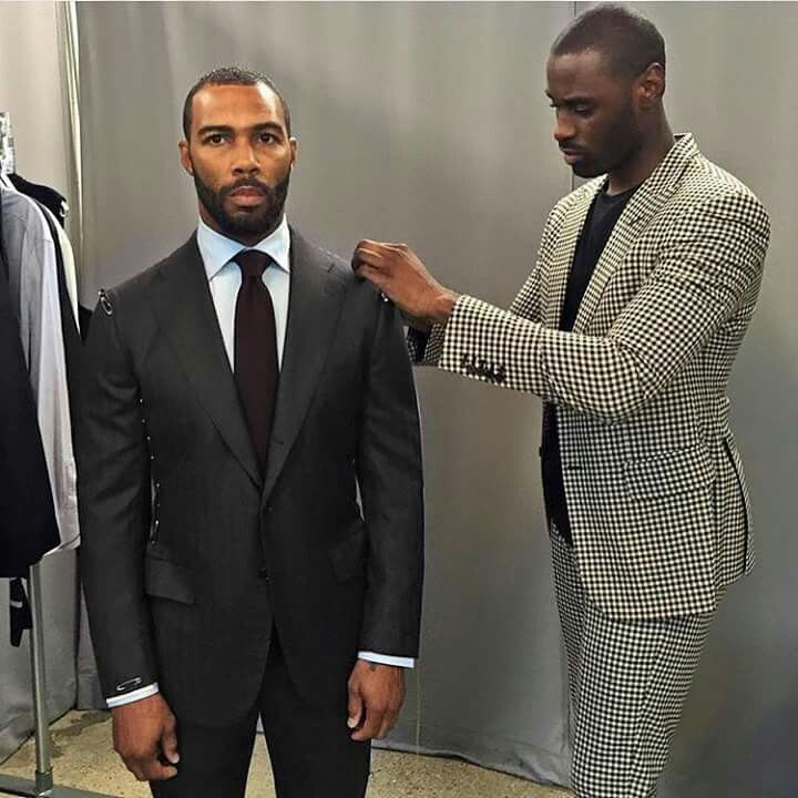 Omari Hardwick Power Suit Omari and his fashion ...