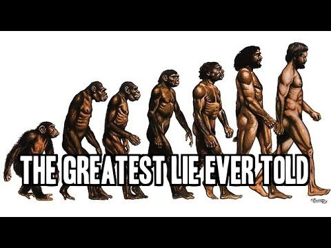Evolution The Greatest Lie EVER Told !!! Evolution Debunked by White Rabbit of The CTN - YouTube