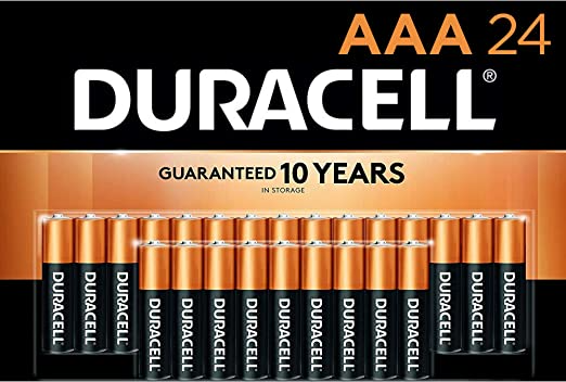 Amazon Com Duracell Coppertop Aaa Alkaline Batteries Long Lasting All Purpose Double A Battery For Household Duracell Alkaline Battery Duracell Batteries