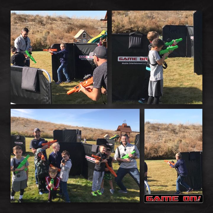 Torin's laser tag birthday party! gameontricities