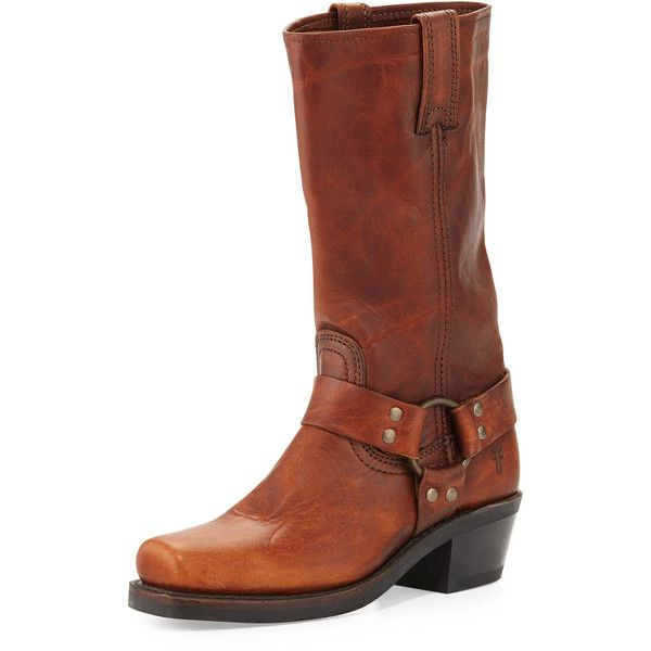 Frye Harness 12R Leather Boot (4 295 ZAR) ❤ liked on Polyvore