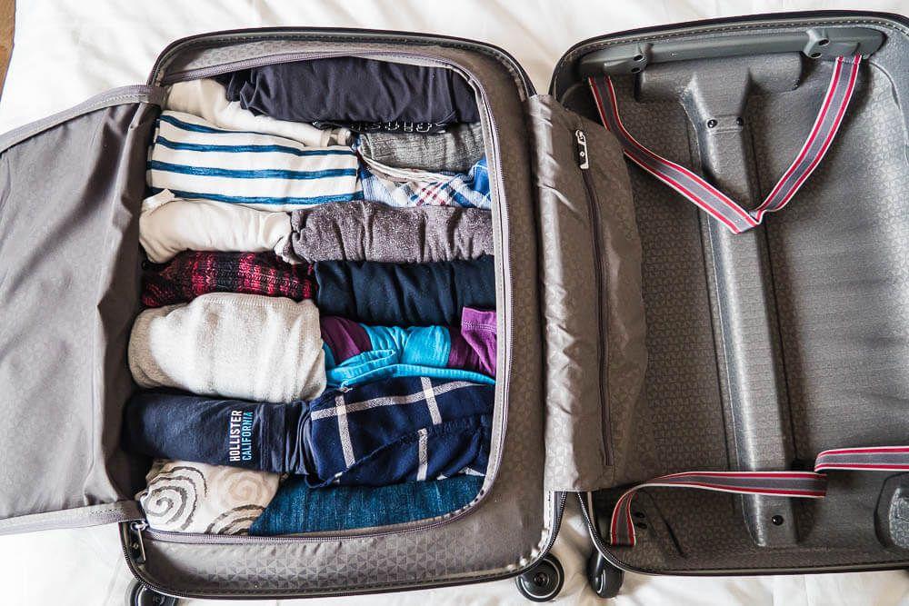 Koffer Einpacken