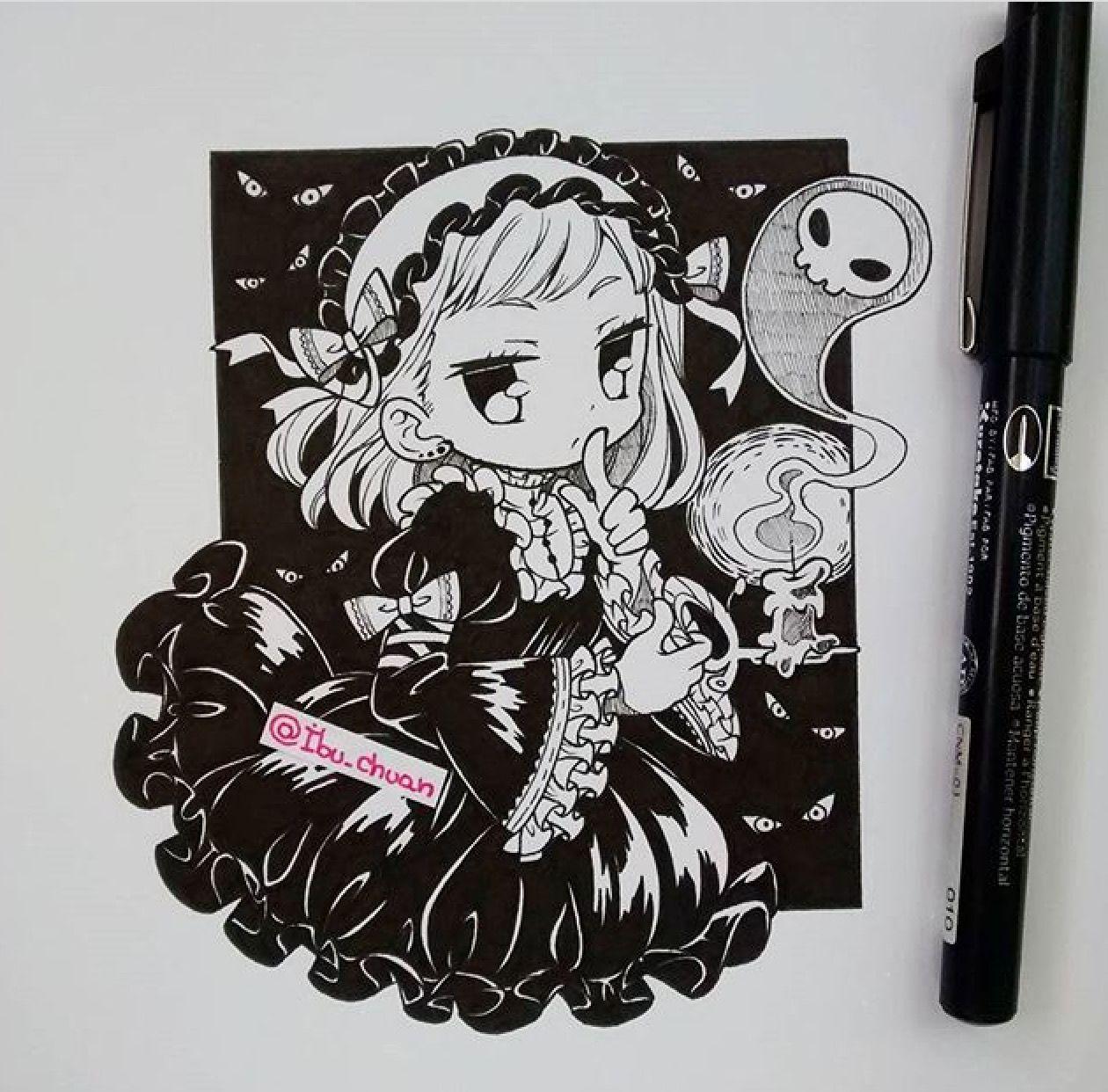 ibu_chuan Instagram | Dibujos chibi⭐ | Pinterest | Dibujos ...