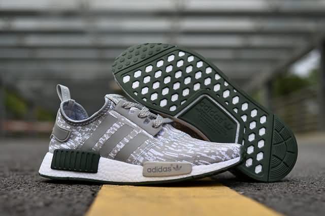 ac7f51385 Adidas NMD 2017 R1 Unisex  gray  green shoes Whatsapp 8613328373859 Cheap  Adidas Nmd