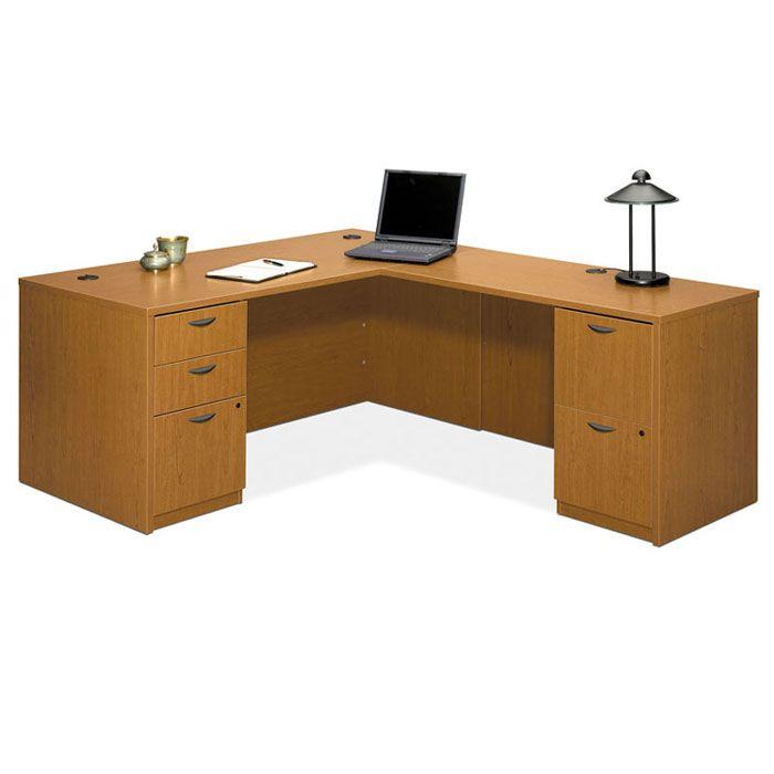 Laminate Executive L Shaped Desk Workstation Package For Innovative And  Awesome L Shape Computer Desk Inspiring