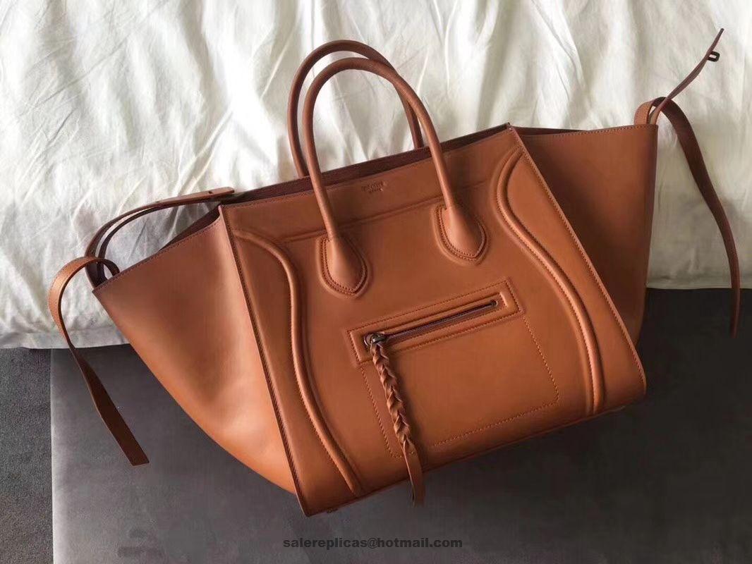 d995e48f1326 Celine Medium Luggage Phantom Bag - Supple Calfskin Camel