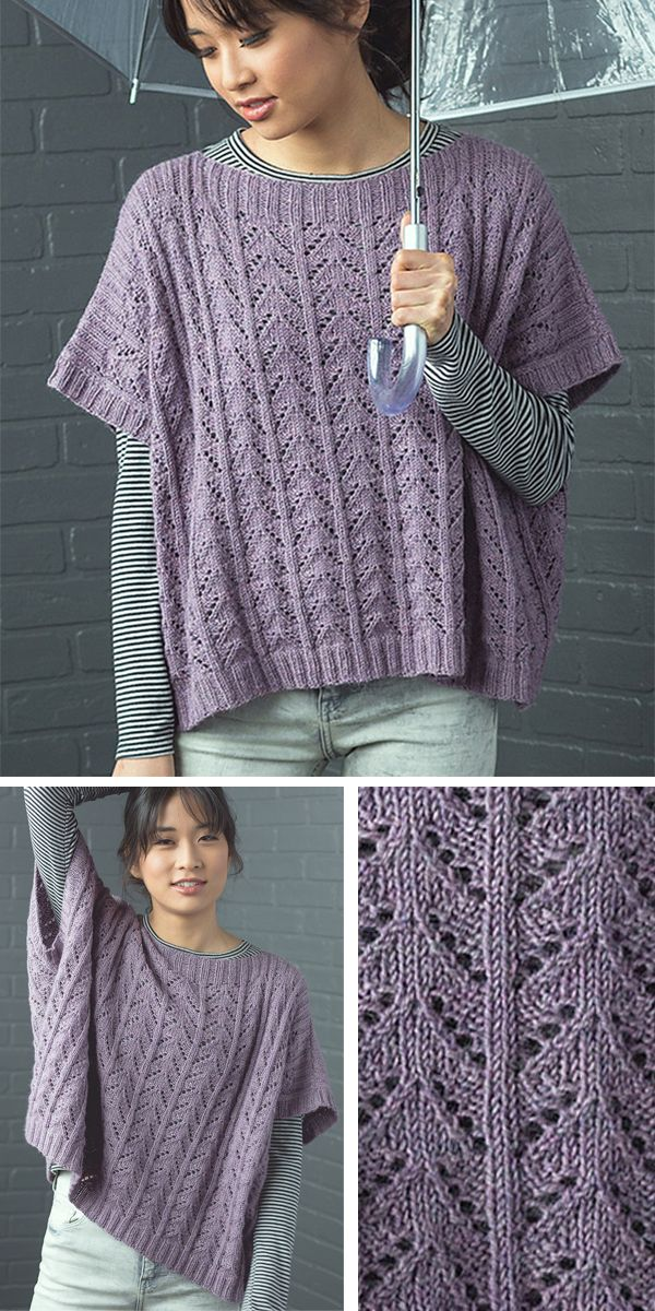 Photo of Knitting Pattern for Easy 8 Row Repeat Riprap Top