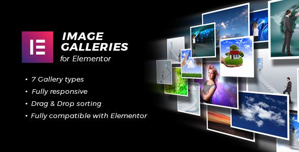 Image Galleries Widgets for Elementor Page Builder Nulled