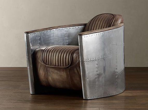 restoration hardware aviator chair | restoration hardware