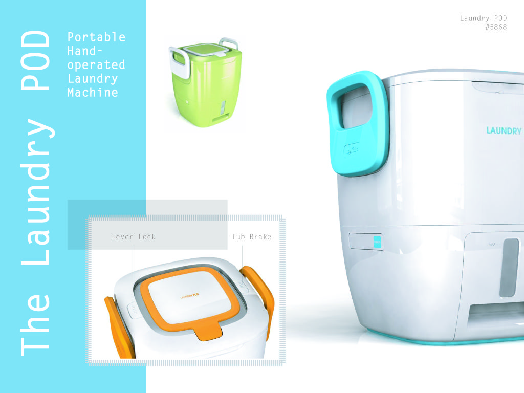 The Laundry Pod An Electricity Less Washing Machine For Small