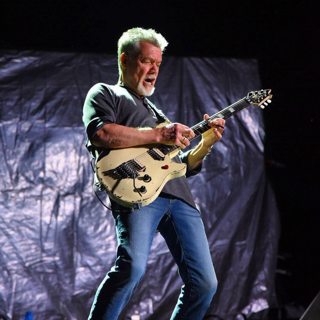 Van Halen At Red Rocks Epic Band Epic Venue Eddie Van Halen