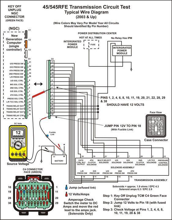 Transmission Repair Manuals 45rfe 545rfe Instructions For