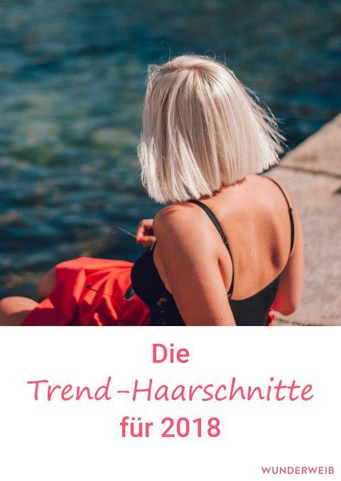 Frisuren 2018: Diese Haarschnitte sind Trend   Bobs, Hair ...